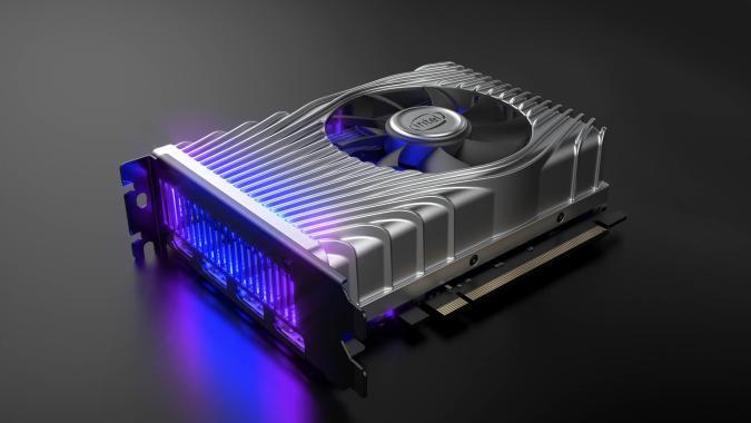 Intel's DG1 Xe graphics development card