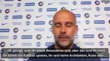 """Guardiola über Sterling: """"Bin sehr stolz auf ihn"""""""