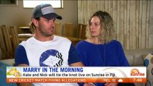 Loved up couple to tie the knot in Fiji live on Sunrise