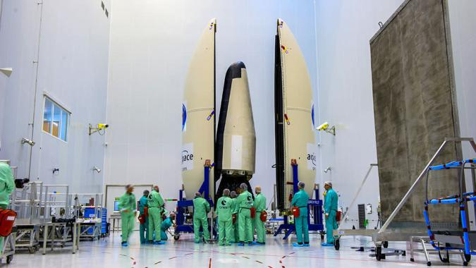 Watch the ESA launch its reusable spaceplane (update: success!)