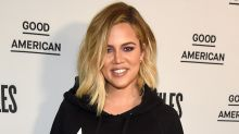 Khloe Kardashian Flaunts Post-Baby Body While Soaking Up the Sun in Yellow Bikini: Pic!