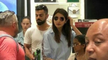 Virat Kohli and Anushka Sharma spotted shopping in South Africa, watch VIDEO