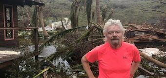 Richard Branson: Hurricanes 'start of things to come'