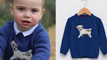 Prince Louis's adorable $60 sweater is already sold out — here's how you can shop similar looks for less