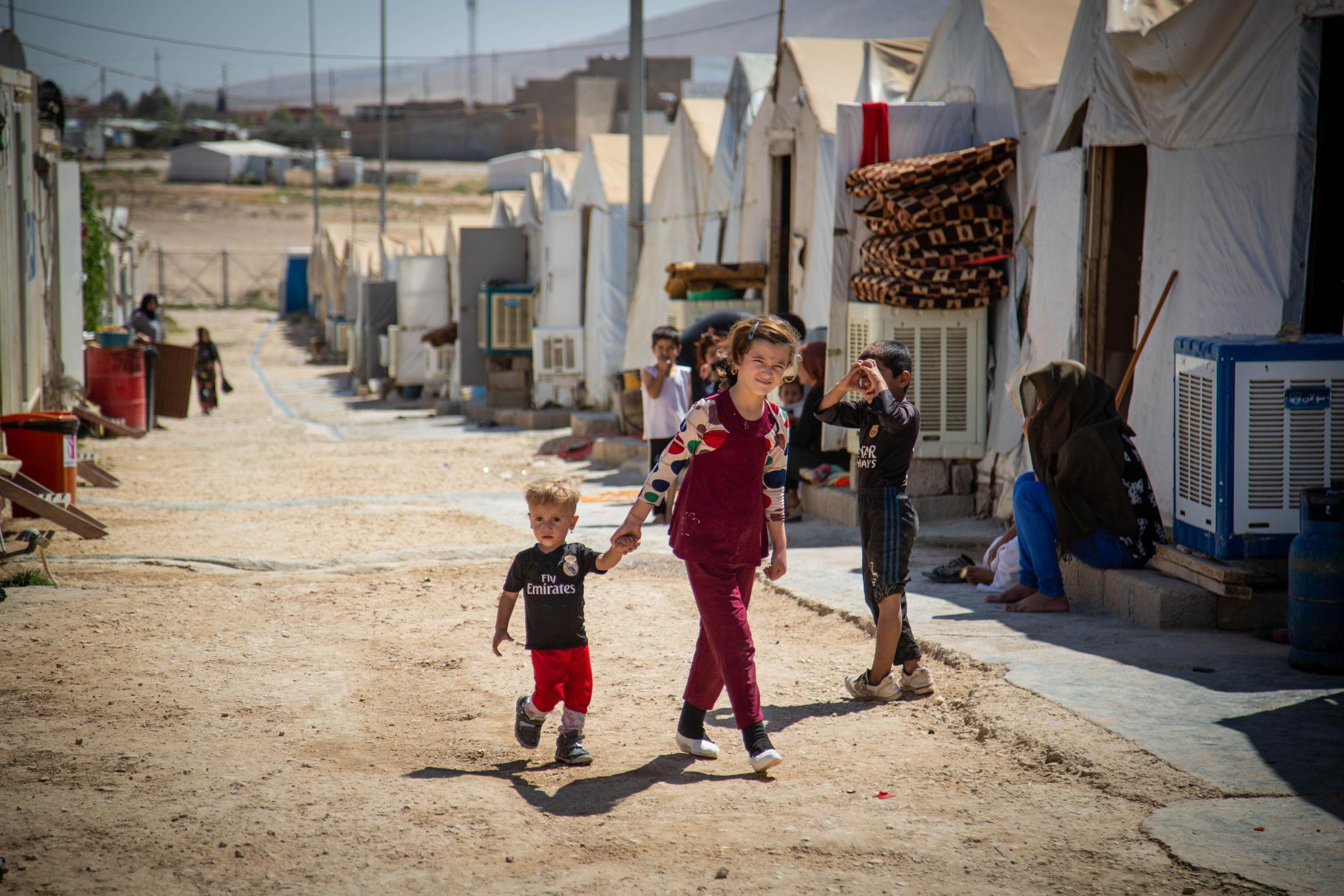 Yazidi leaders issue 'historic' call for children of Isis rape survivors to return home