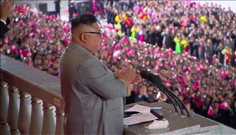 North Korean leader Kim Jong Un said his country had not seen a single coronavirus infection