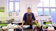 John Torode's kitchen on fire during 'This Morning' cooking demo chaos