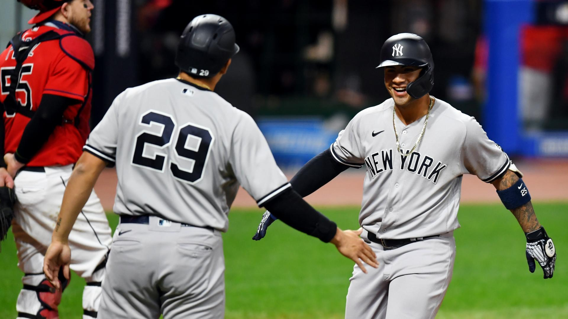 Yankees rout Indians in MLB playoffs opener, Astros cruise