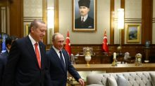 Kremlin says Putin, Erdogan discuss Syria in phone call