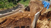 Pascalongsor, proyek jalur ganda KA di Bogor dihentikan sementara