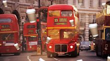 London buses now run on coffee just as much as you
