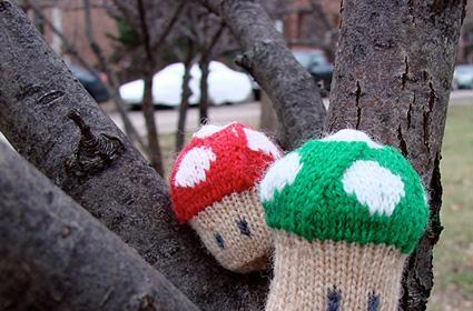 Knit yourself a few extra lives