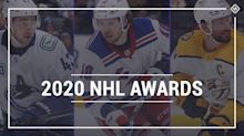 NHL awards tracker 2020: Full list of finalists, winners for Hart, Vezina, Norris and more