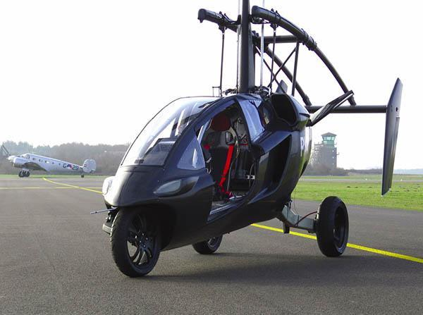 PAL-V ONE makes maiden voyage, gives new meaning to 'Flying Dutchman' (video)