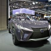 Lexus' UX concept has 'kinetic' seats and holographic displays