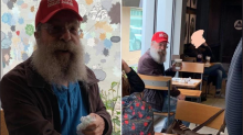 Woman harassed 74-year-old man for wearing MAGA hat in Starbucks: 'Get the f*** out of my town'