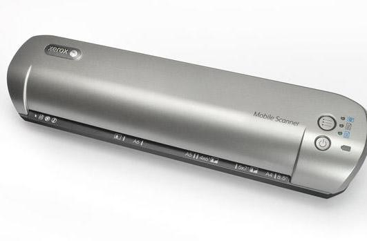 Xerox Mobile Scanner wirelessly sends files to your PC, iOS or Android device
