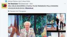 Supla se passa por Ana Maria no 'Mais Você' e internautas vão à loucura