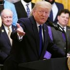 Trump hits back at Senate impeachment trial during White House ceremony honoring LSU champs
