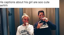 This guy's Instagram captions about his girlfriend are making the internet collectively swoon
