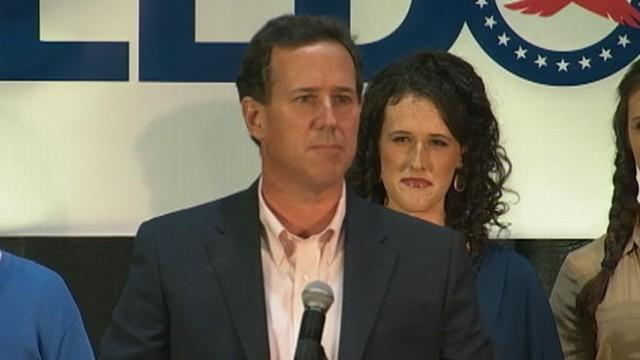Rick Santorum Asks Supporters to 'Saddle Up'