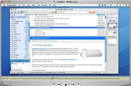 TUAW Podcast #21 - the NetNewsWire 3 beta screencast