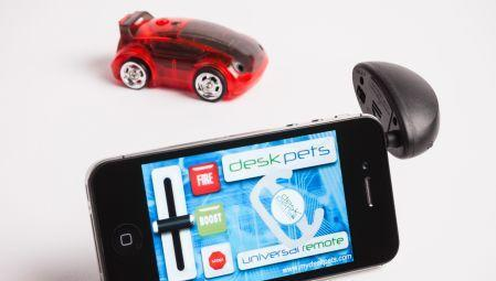 DeskPets' CarBot is a little iOS-controlled car