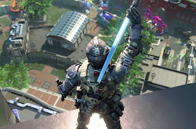 New 'Call of Duty: Black Ops 4' season adds a sword-wielding specialist
