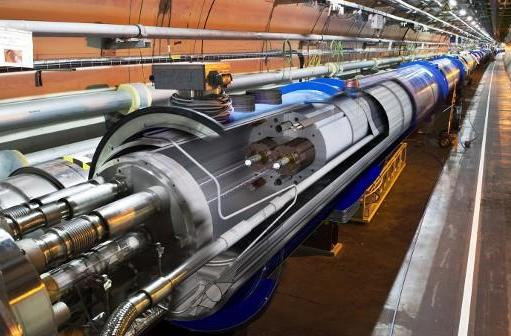 LHC discovers 'particle', starts repaying back that five billion