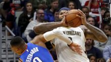 DeMarcus Cousins hit with flagrant-2, ejected for elbowing Russell Westbrook