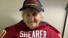 NFL legends help celebrate Ellicott City big fan's 100th birthday