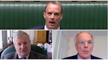 Silence, footballs and technical hitches: How the first 'virtual' PMQs unfolded
