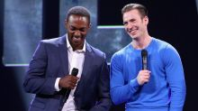 Two Years After 'Winter Soldier,' Anthony Mackie and Chris Evans Still Debating Music