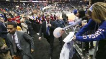 KU basketball coach Bill Self supportive of Kansas City's push for the temporary relocation of the NBA's Toronto Raptors