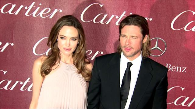 Angelina Jolie Denies Secretly Marrying Brad Pitt After Wearing Gold Ring