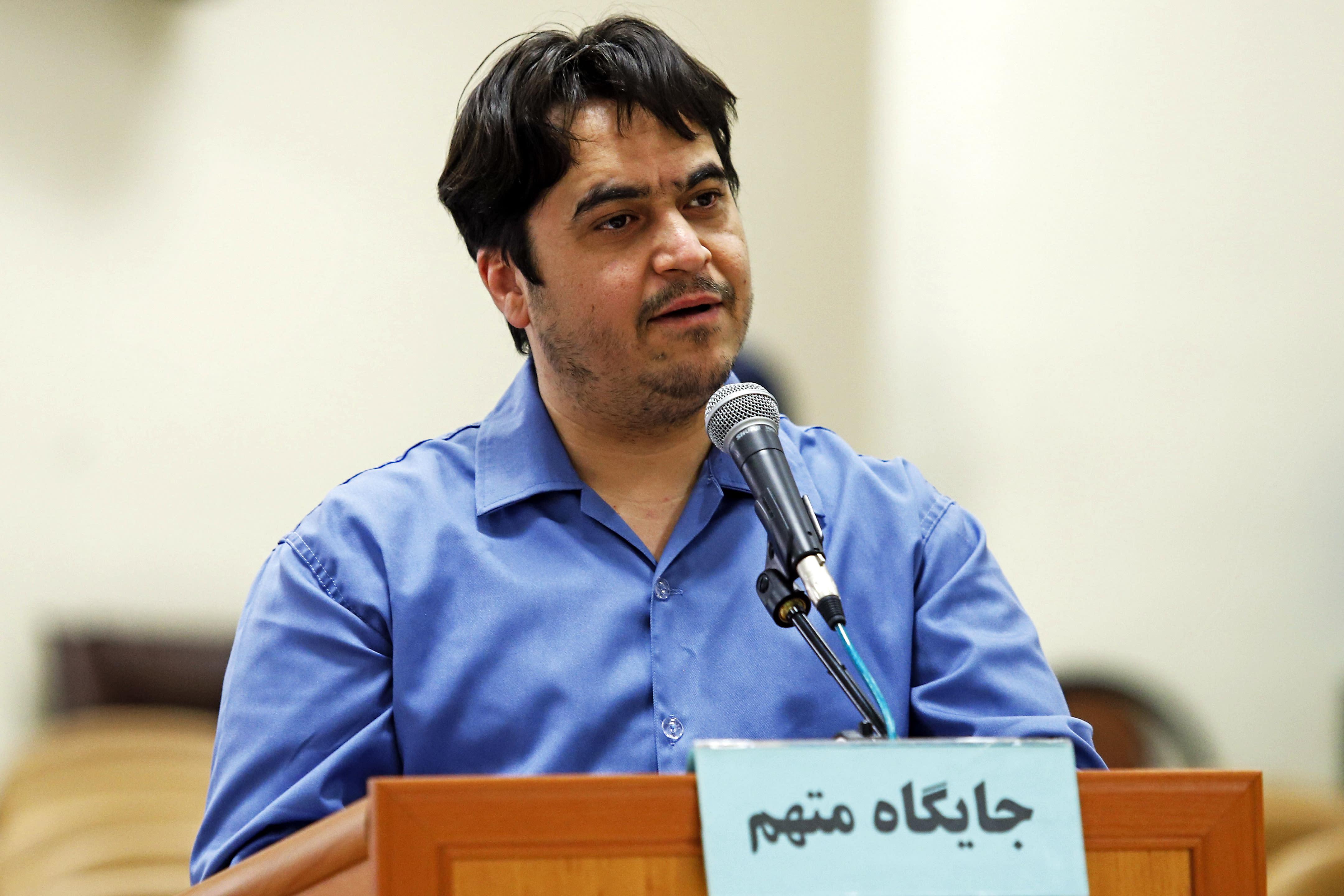 Iran sentences journalist Ruhollah Zam to death