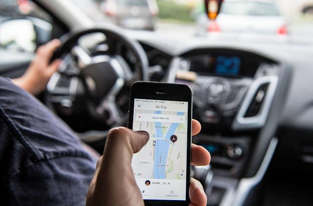 Uber highlights your rating to make you a better passenger