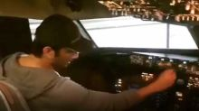 Ankita Lokhande shares Sushant Singh Rajput's old flying an airplane video