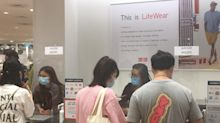 Uniqlo's Airism masks draw crowds both online and offline in Singapore
