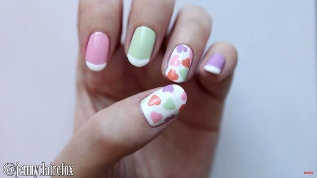 Show Some Love With These Valentines Themed Nail Art Ideas