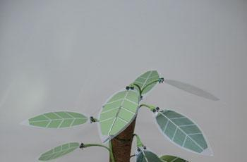 Japanese consortium disguises solar cells as leaves