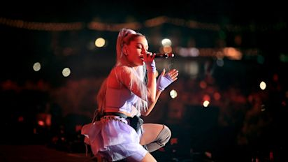 Ariana Grande Surprises Coachella With 'No Tears Left To Cry' Performance