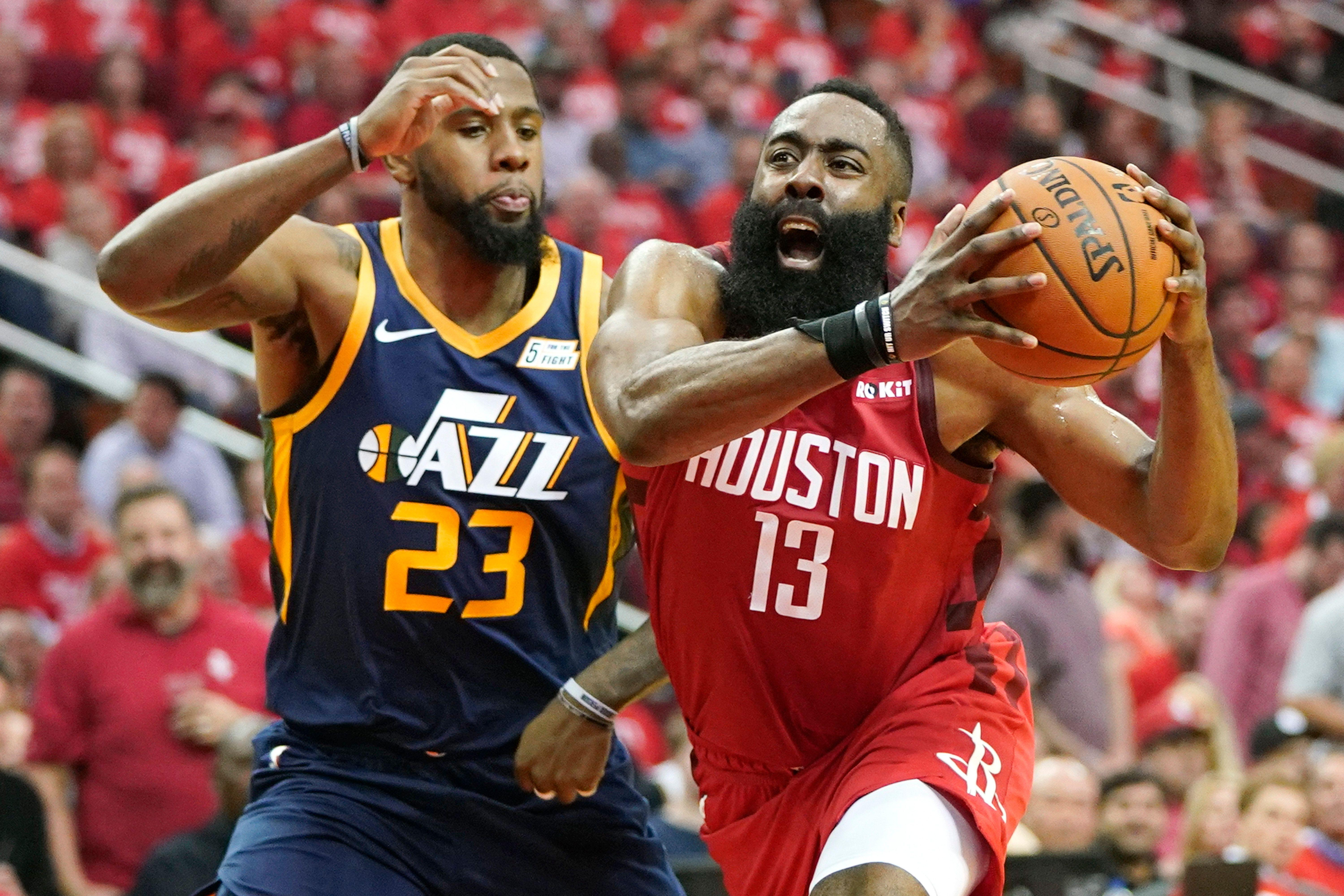 53ca2f3ce66 James Harden s unstoppable regular season carries into playoffs vs. Jazz