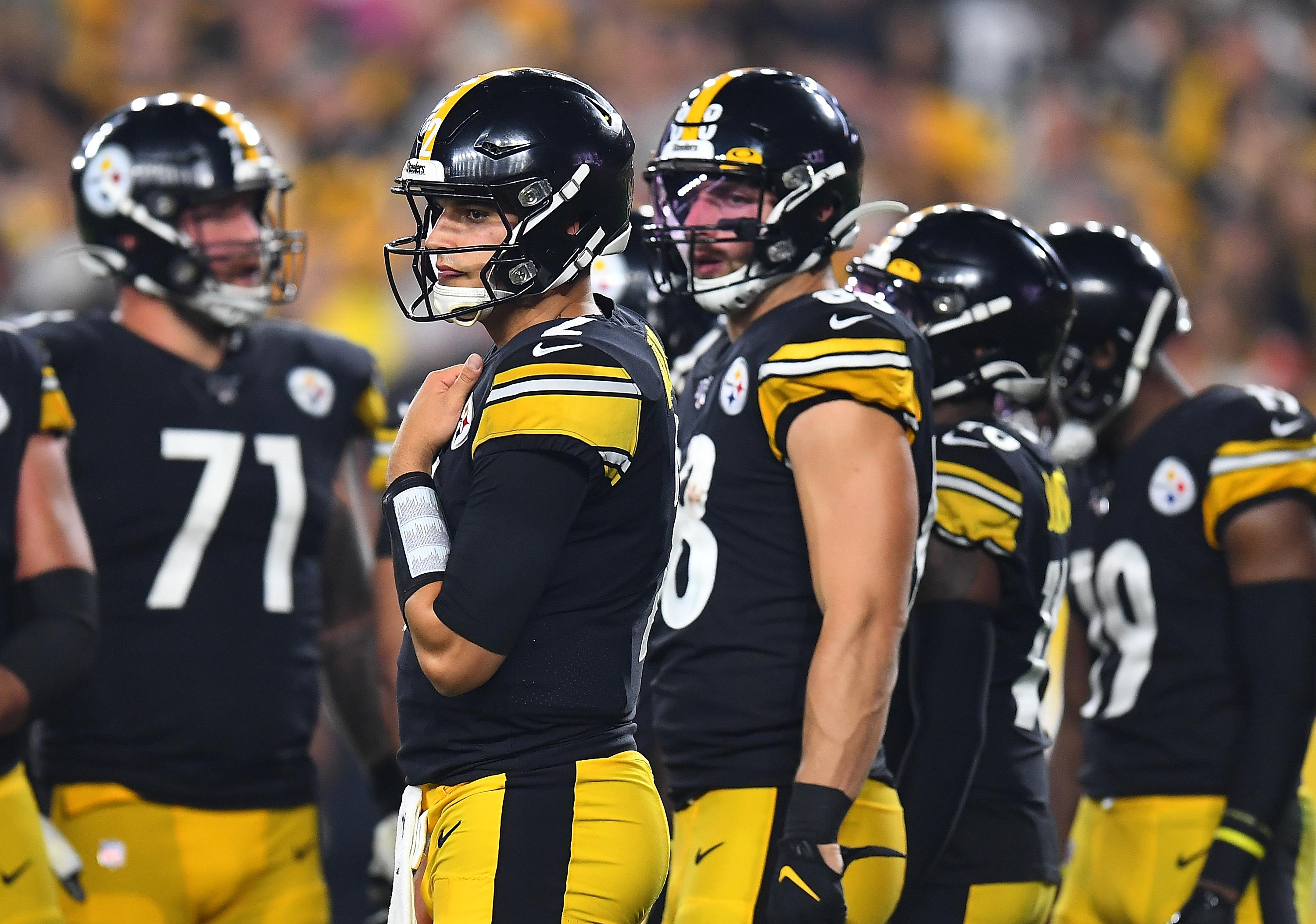 Steelers' shaky reasoning for not allowing Mason Rudolph to call a QB sneak