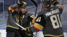 Golden Knights run away with Game 1 vs. Blackhawks