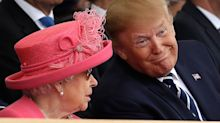 PHOTOS: President Trump's state visit to the U.K.
