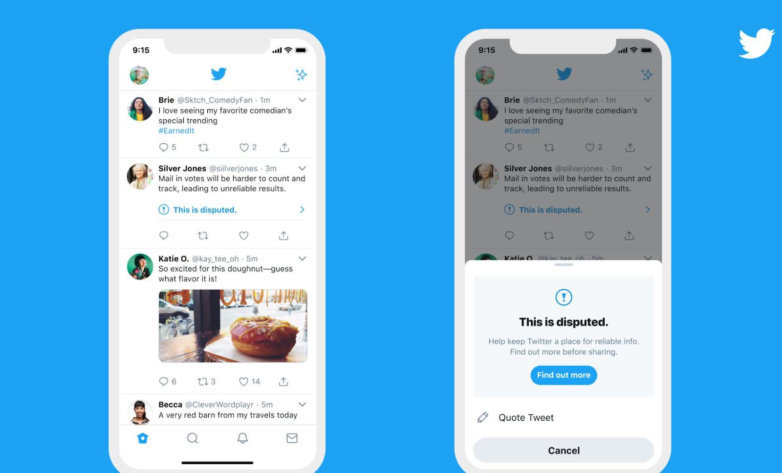 Twitter will warn you if you 'like' misleading tweets