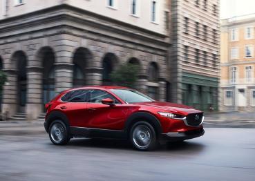 2021年式Mazda CX-30新上市!標配車道維持輔助系統、旗艦型以上新增換檔撥片