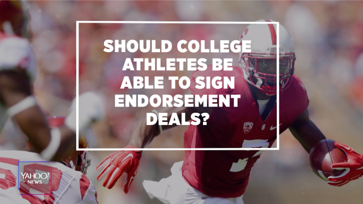 Should college athletes be able to sign endorsement deals?
