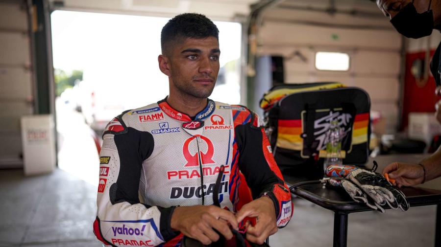 MotoGp, Jorge Martin in pista su Ducati: il test a Misano
